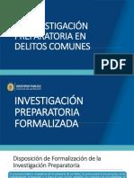 Tema 2 LA INVESTIGACIÓN PREPARATORIA EN DELITOS COMUNES