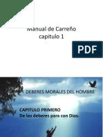 EXPO CAP 1 Manual de Carreño