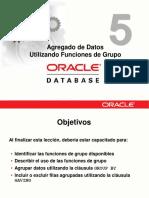 05 Agregado de Datos Utilizando Funciones de Grupo