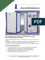 SylaTech Elektrolyseure