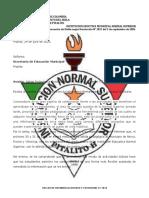 NOTA REMISORIA SECRETARIA SALIDA OCTAVO 2020