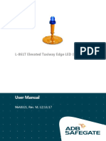 User Manual 96A0321, Rev. M, 121317 L-861T Elevated Taxiway Edge LED (ETES) Light