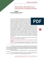 EL PORTAFOLIO DIGITAL COMO SOPORTE DE LA