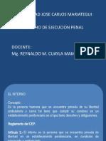 EL INTERNO y SUS DERECHOS - 4