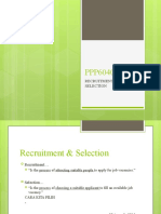 _HRM 2 Recruitment & Selection notes
