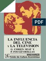 La influencia del cine y la television G. Cohen Seat