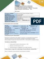 Guía de actividades y rúbrica de evaluación - Fase 2 - Presentar Comunidad Virtual de Conocimiento - CVC.pdf