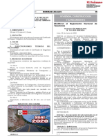 RESOLUCIÓN MINISTERIAL N° 124-2020-VIVIENDA