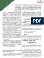 RESOLuCIÓN MINISTERIAL N° 0338-2020-MTC/01.02