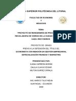 Proyecto Caso Recyvidrios