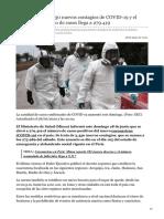 elcomercio.pe-Minsa reportó 3430 nuevos contagios de COVID-19 y el número acumulado de casos llega a 279419
