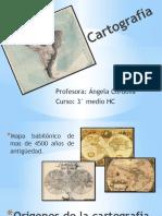 PPT cartografía 3°MEDIO ARTES