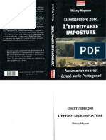 Thierry Meyssan L'effroyable Imposture (Non-Ocr, 11 Septembre, Attentat Bidon Pentagone, Imperialisme Usa)