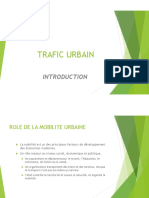 00 Trafic Urbain - Intrduction