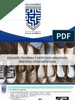 Clasificación Arancelaria de Calzado y sus Partes (1)