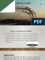 Dioxido de azufre
