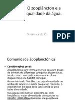 AULA 12. O zooplâncton e a qualidade da água
