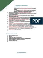 FUNCIONES - COORDINADOR Y JEFE DE MANTENIMIENTO