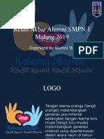 Reuni Akbar Alumni SMPN 1 Malang 2019.ppsx