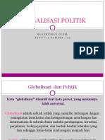 GLOBALISASI POLITIK