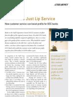 More Than Lip Service
