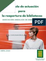 Protocolo Reapertura de Bibliotecas