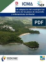 USAID-ICMA-ICF 2017. Plan de medidas de adaptacion del municipio de Las Terrenas en el marco de los Planes de Desarrollo y OT 29pp