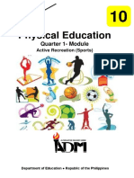 PHYSICAL EDUCATION QUARTER 1-MODULE