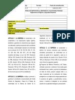 INP-RG-11REGLAMENTO DE HIGIENE Y SEGURIDAD INDUSTRIAL