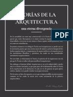 TEORÍAS DE LA ARQUITECTURA