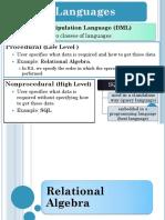 relational algebra in database