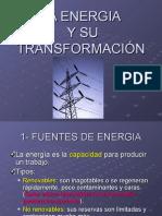 ENERGIA Y SU TRANSFORMACIÓN