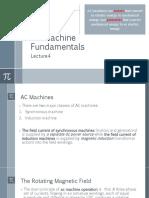 AC machine fundamentals
