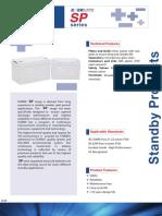 Fiamm Battery - 12 SP 205