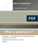 Introducing  to the Geophysics.pptx first lecture