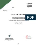 ICASS09 Programme