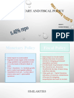 Monetary and Fiscal policy_group10