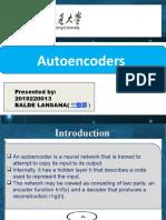 Auto Encoder