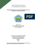 Contoh Laporan PKL untuk D3 ELEKTRO