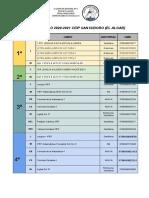 Libros Curso 20-21