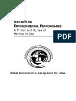 Measuring Environmental Performance