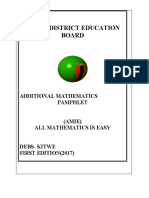 ADDITIONAL MATHS-KITWE DISTRICT EDUCATION BOARD.docx