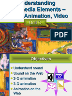 Multimedia sound animation and video