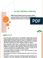 Adam Securities Limited Company Profile -
