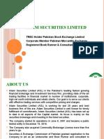 Adam Securities Limited Company Profile -