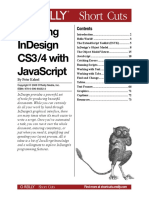 Scripting Indesign Cs3-4 With Javascript - Jon Duckett