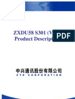 ZXDU58 S301(V4.0) 300A Power System Product Description