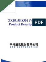 ZXDU58 S301(V4.0) 300A Power System Product Description