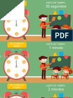 Relojes temporizadores cuenta regresiva hechos en PowerPoint