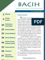 Boletín del Aula Canaria de Investigación Histórica nº 3 (BACIH 3) 2011